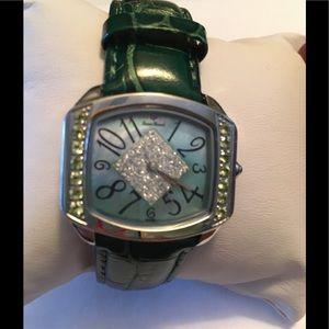 Lucien Piccard Green Water Resistant Quartz Watch
